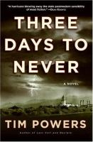 cover of Three Days to Never