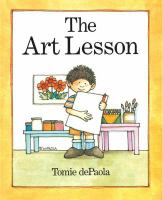 The+art+lesson by DePaola, Tomie © 1989 (Added: 9/12/16)