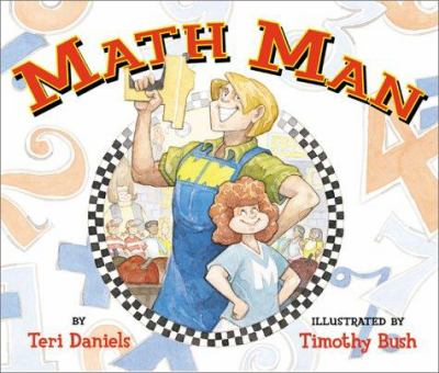 cover photo: Math Man