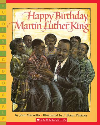 Cover image for Happy birthday, Martin Luther King