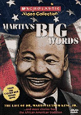 Cover image for Martin's big words