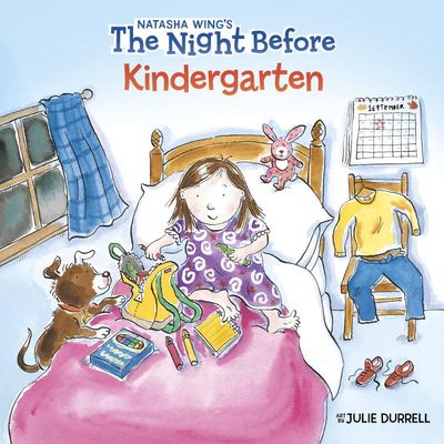Cover image for The night before kindergarten 