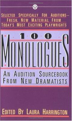 Cover art for 100 monologues : an audition sourcebook from new dramatists