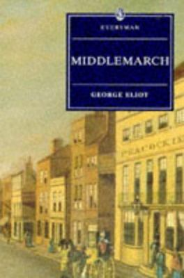 Book cover of Middlemarch