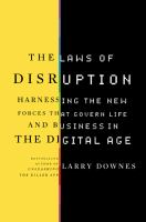The Laws of Disruption catalog link