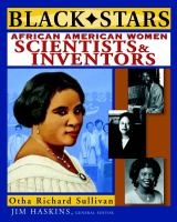 African American Women Scientists and Inventors catalog link