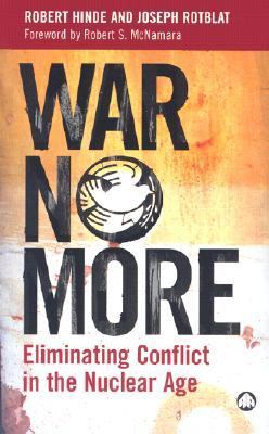 Book cover for War no more.