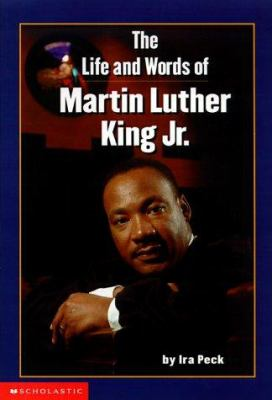 Cover image for The life and words of Martin Luther King, Jr.