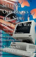 Selling Old Books the New Dot Com Way, by Suzanne Pitner