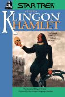 the cover of The Klingon Hamlet