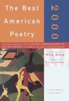 The Best American Poetry, 19 by  © 1995 (Added: 1/13/15)