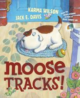 cover of Moose Tracks!