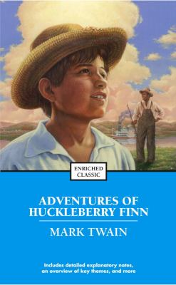 Cover image for Adventures of Huckleberry Finn.