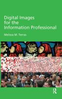 Digital Images for the Information Professional catalog link