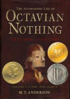 Cover of The Astonishing Life of Octavian Nothing (Grades 9-12)