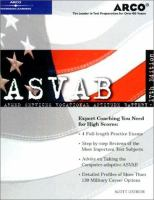Master The Asvab by Ostrow, Scott A. © 2001 (Added: 1/9/15)