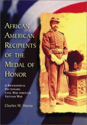 Cover image for African American recipients of the Medal of Honor