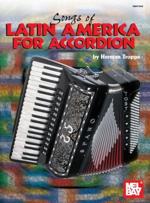 Cover image for Songs of Latin America for accordion
