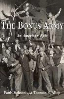 Cover to THe Bonus Army