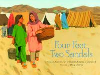 cover of Four Feet, Two Sandals