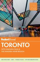 Fodor's Toronto by Dobson, Andrew © 2014 (Added: 9/6/17)