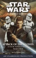 the cover of Attack of the Clones