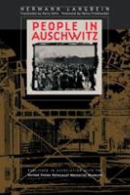 People in Auschwitz by Hermann Langbein