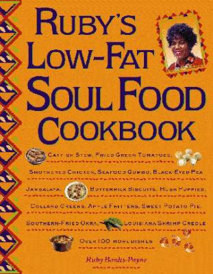 Cover image for Ruby's low-fat soul food cookbook