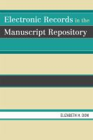Electronic Records in the Manuscript Repository catalog link