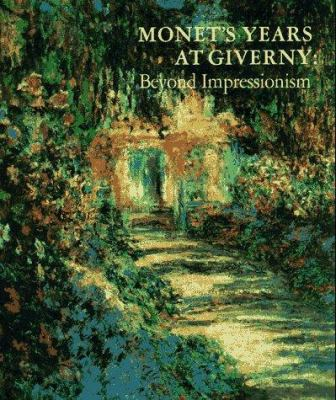 Cover image of Monet's Years at Giverny