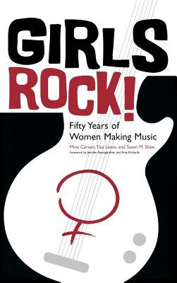 book cover titled Girls Rock