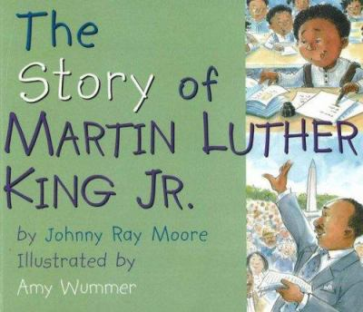 Cover image for The story of Martin Luther King Jr.