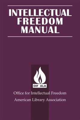 Book cover for Intellectual Freedom