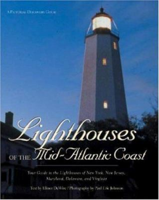 Book cover for Lighthouses of the Mid-Atlantic Coast