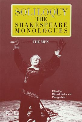 Cover art for Soliloquy! : the Shakespeare monologues (men)