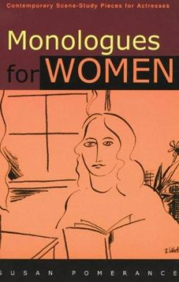 Cover art for Monologues for women