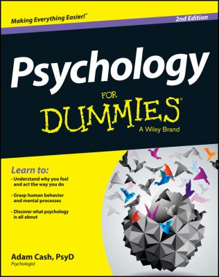 over of book Psychology for dummies