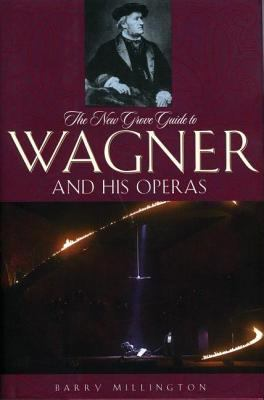 Purple book cover with black and white photograph of Richard Wagner.