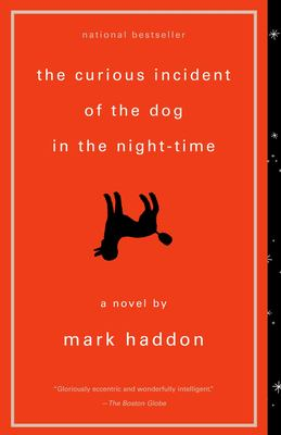 Cover image for The curious incident of the dog in the night-time