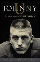 cover of Johnny U: The Life and Times of John Unitas