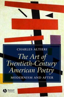 Book cover for Art of Twentieth Century American Poetry