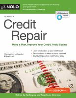 Credit Repair by Loftsgordon, Amy © 2017 (Added: 5/14/18)