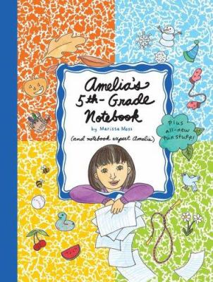 Cover image for Amelia's 5th-grade notebook 