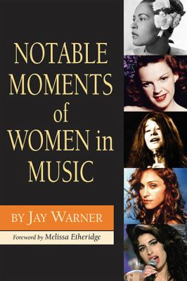 book cover for Notable Moments of Women in Music