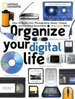 cover photo of organize your digital life by aimee baldridge