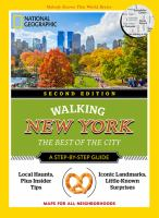 Walking New York : The Best Of The City by Cancila, Katherine © 2016 (Added: 9/8/16)