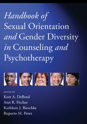 Book jacket for Handbook of Sexual Orientation and Gender Diversity in Counseling and Psychotherapy