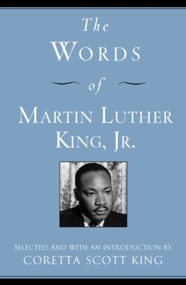 Cover image for The words of Martin Luther King, Jr.