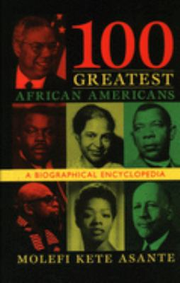 Cover image for 100 greatest African Americans