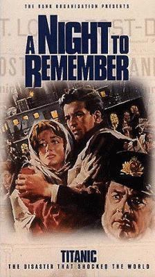cover photo: A Night to Remember (VHS)